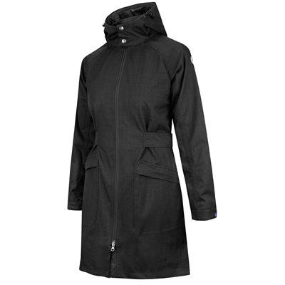 manteau de pluie irid on devonshire pour femme noir. Black Bedroom Furniture Sets. Home Design Ideas